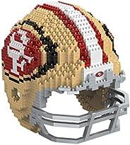 NFL Unisex-Adult 3D BRXLZ Puzzle Replica Helmet Set