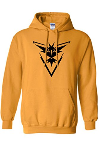 Xiucos Logo Team Valor/Instinct/Mystic Symbol Jacket Hoodie Cosplay Costume
