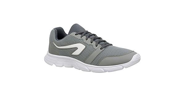 Kalenji - Zapatillas de Running de Caucho para Hombre Plateado ...