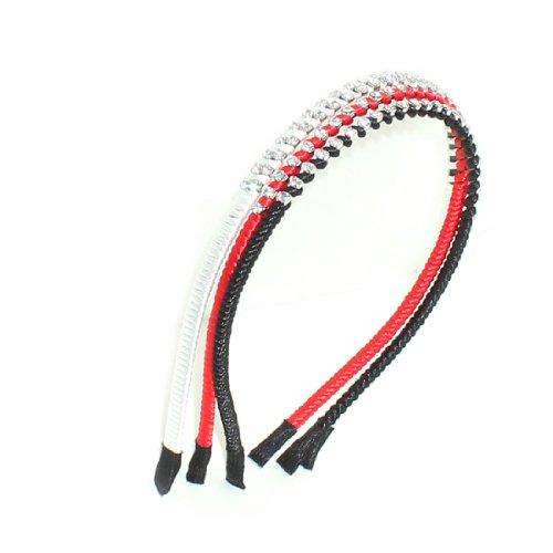 3 PACK - Verschiedene Stirnbänder / Haarschmuck (teilweise mit Strass)