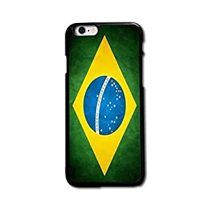 Retro Brazil National Flag Custom Design Case Cover for iPhone 5 5S ,Cool Fashion Style