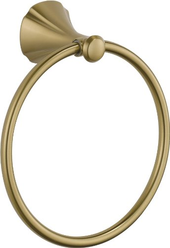 Delta Faucet 79246-CZ Addison Towel Ring, Champagne Bronze (Tissue Addison Holder)