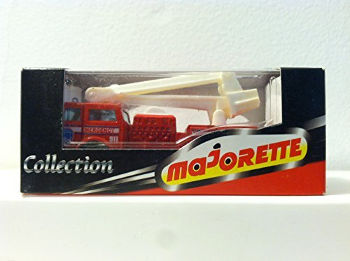 Snorkel Collection - Majorette Collection Extending Snorkel Fire Truck. Red and White.