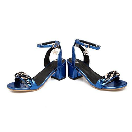 Ouvert 36 5 BalaMasa ASL05134 Bleu Femme Bout Bleu SSUyEc