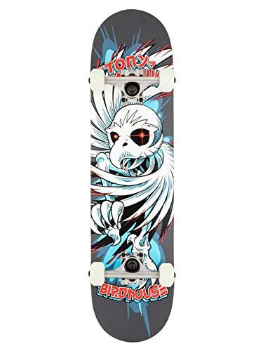 Birdhouse Grey Stage 1 Hawk Spiral - 7.75 Inch Skateboard Complete (Default, Grey)