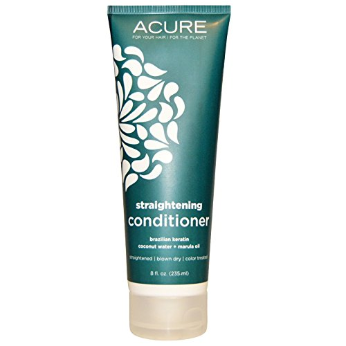 Acure Organics Coconut Hair Straightening All Natural Shampoo And Conditioner