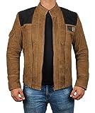 Brown Suede Jackets for Men - Genuine Leather Mens Jacket | M