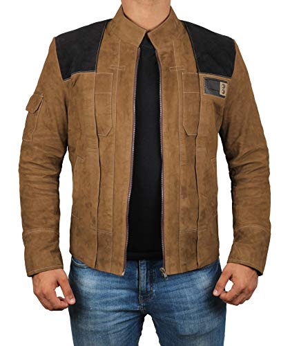 Brown Suede Jackets for Men - Genuine Leather Mens Jacket | M -