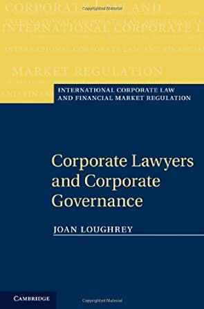 amazon finance and corporate governance Corporate governance is the way in which organisations are directed and controlled.
