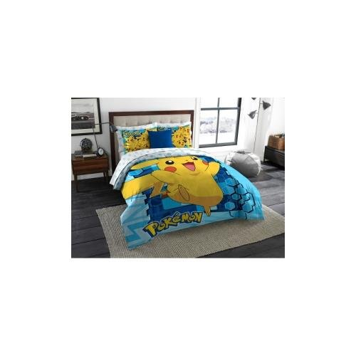 """Big Pika"" Twin/Full Comforter With 2 Pillow Shams, 72"" X 86"""