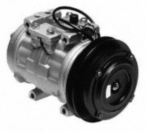 Denso 471-0124 Remanufactured Compressor with Clutch (Clutch 1986 Porsche 911)