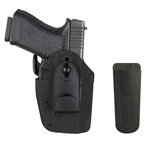 Pro Series Double Retention Holster - Ultimate Arms Gear Safariland 575 H&K 45C IWB Inside waistband GLS Multi Pro-Fit Right Hand Black Holster with Magazine Belt Pouch