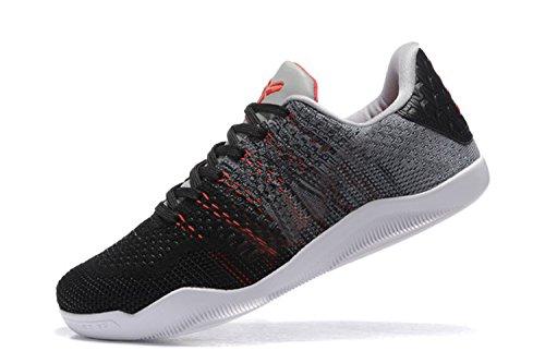 2016 Men's XI Sports Shoes - Basketball Black cement Size: 7.5 D(M) US