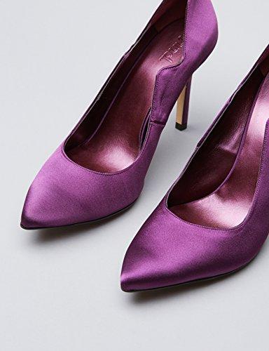 Mujer Morado Purple Salones Find con Corte de Perfilado para Charol xB4q0w7SH