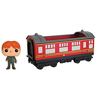 Figurine pop Harry Potter - Rides 21 Hogwarts Express und Ron Weasley (15cm x 12cm)