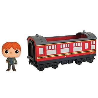 Figurine pop Harry Potter - Rides 21 Hogwarts Express und Ron Weasley (15cm x 12cm)