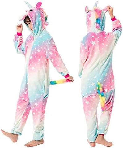 SOHOH Pijama Unicornio Kigurumi niños Estrellas del Arco Iris ...