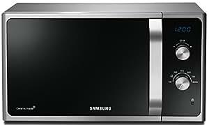 Samsung MS23F301EAS/EG - Microondas sencillos, 1150 W, 23 l, color negro y gris