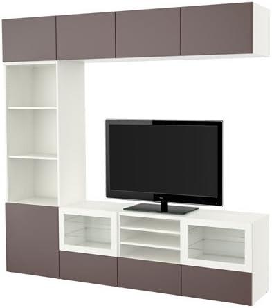 Ikea 20204 11268 1838 Meuble Tv Avec Tiroirs Et Portes En