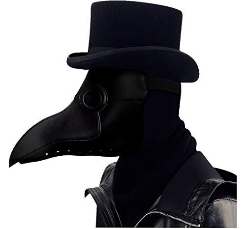 L'VOW Gothic Steampunk Plague Doctor Bird Beak Mask