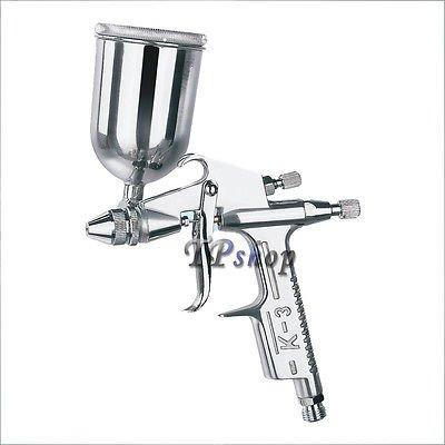 Mini aerógrafo a baja presión de 100 ml, depósito de caída, Mod. K3
