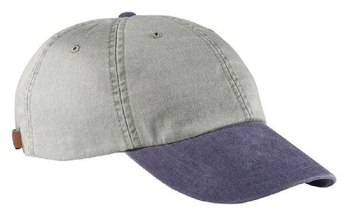 Pigment Crown Stone Cap Twill Dyed Optimum stone all navy Adams HqCUf6