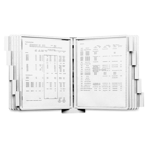 Sherpa Wall-Mount Reference System, 10 Panels by Durable Corporation