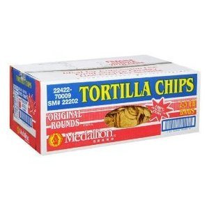 Medallion Brand Tortilla Chips - 2/3 lb. bags - CASE PACK OF 4