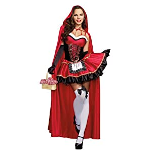 Dreamgirl Little Red Costume Women's Costume outfit