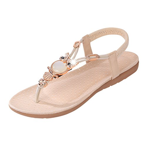 Scarpe In basse Khskx da fondo a New Sandals Water The Summer coreana Forty Versione piatto donna Women's pf0fSHAq