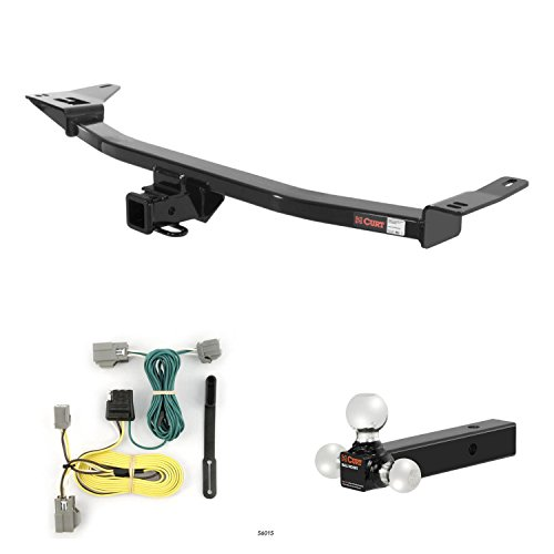 CURT Trailer Hitch, Wiring & Ball Mount for Ford Taurus, Mercury ()