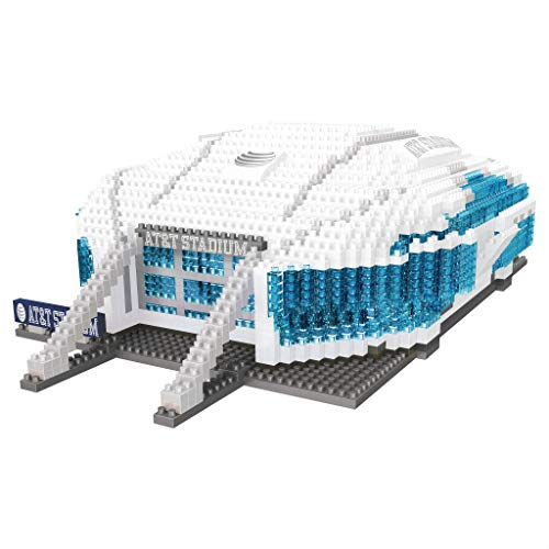 NFL Dallas Cowboys 3D BRXLZ Stadium Building Blocks Set, Team Color, One Size (Electric Football Stadium)