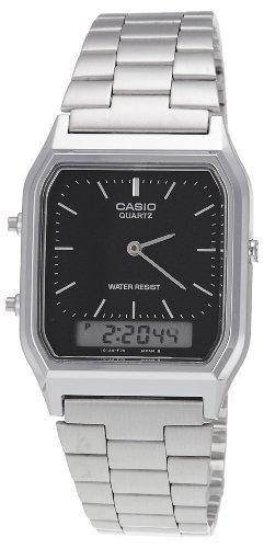 Casio AQ-230A-1DMQYEF Mens Combi Bracelet Watch ()