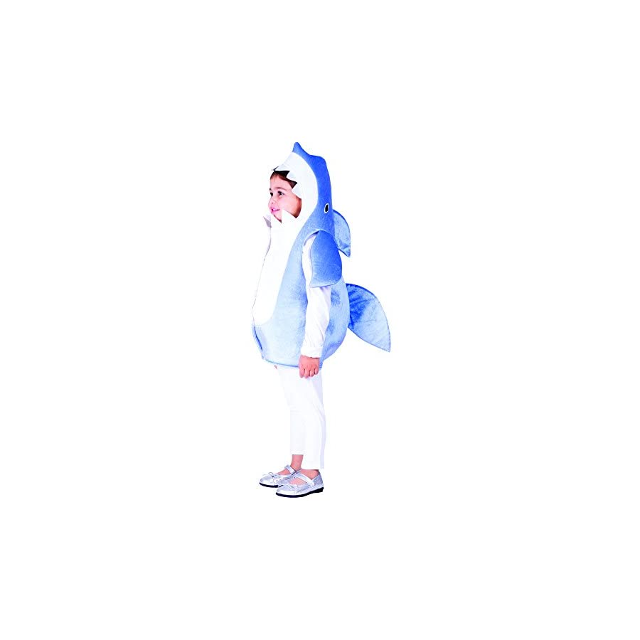 Sky Blue Shark Child Costume By Dress Up America