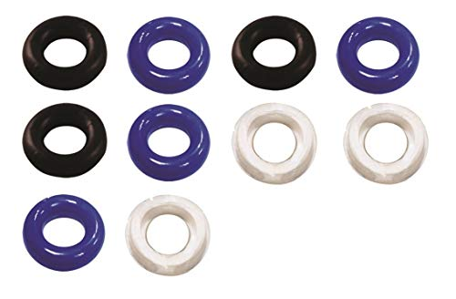 Romi Hot Sales Male Dream Essentials Crazy 10 Pcs Waterproof Silicone Cockrings Penis Ring Cock-ring Delay Control