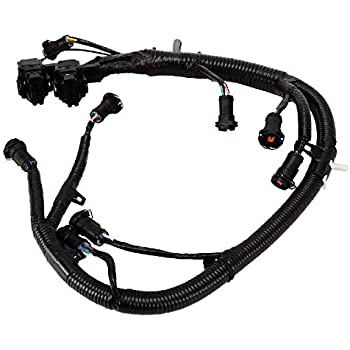 Amazon com: FICM Engine Fuel Injector Complete Wire Harness