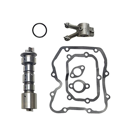 Camshaft Cam Shaft Exhaust Rocker Arm Gasket Kit Set for 1996-2012 Polaris Sportsman 500 2X4 4X4 Rocker Shaft Set