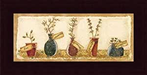 Herb Collection I, Art Poster by Karen Good