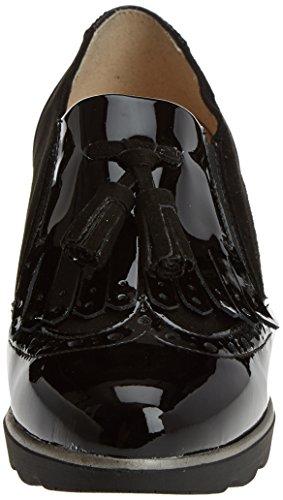 DCHICAS Damen 3707 Halbschuhe Black (Schwarz)