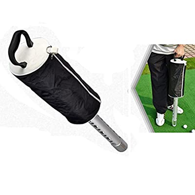CRESTGOLF Aluminum Alloy Golf Ball Pick-Up Tool Golf Retrievers-----Store 70 Golf Balls