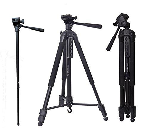 Camera Tripod, 72 inches Professional Video Tripod Monopod f