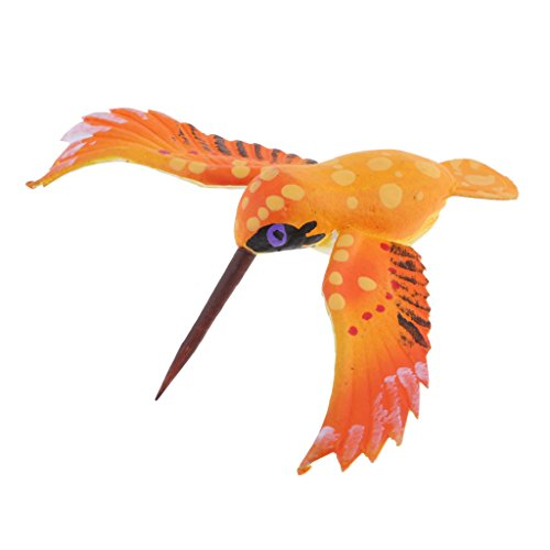 Dolity Mini Insect Bug Figures, Bug Toys for Birthday, Christmas, Halloween Decoration - Hummingbird