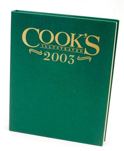 Cook's Illustrated 2003 Annual pdf epub