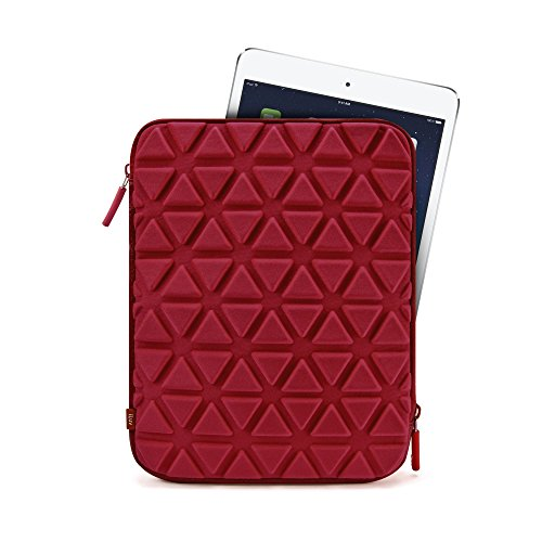 iLuv Belgique, Stylish Foam Padded Universal Protective Sleeve Case with Exterior Padding Design, Plush Interior, and Zipper Closure For All iPad/iPad Mini Generations and Most 8