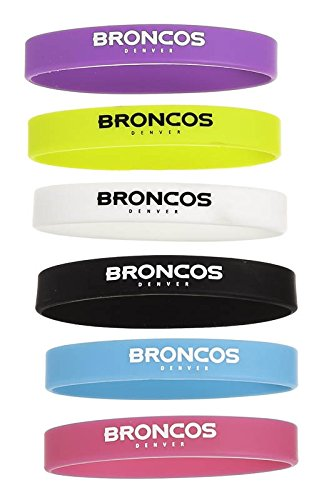 Beverage Bands, Silicone, Denver Broncos
