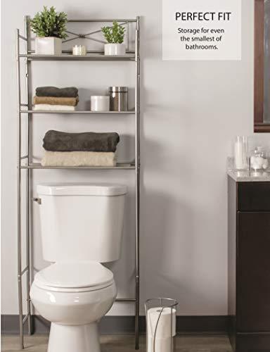 Space Saving 3 Piece Bathroom Organizer Set Ldr Includes 3 Shelf