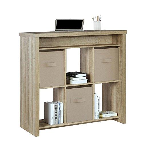 Ameriwood Home Motley Standing Desk, Brown Oak