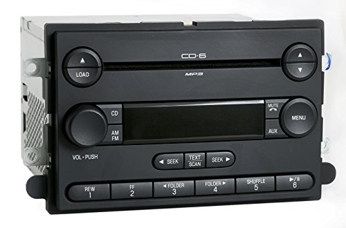 1 Factory Radio AM FM 6 Disc CD Player Compatible With 2007 Ford Edge Lincoln MKX 7T4T-18C815-CG