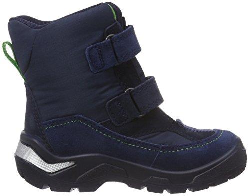 Ecco ECCO SNOWRIDE - Zapatos primeros pasos de cuero para niño Azul (TRUE NAVY/MARINE/MARINE59170)
