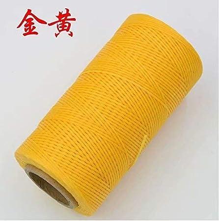 ec5adc1ef23b Bobine de fil plat ciré 260M pour cuir maroquinerie bricolage DIY Générique